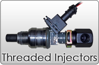 threaded fuel injector