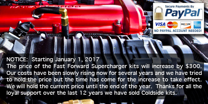 Fast forward superchargers products