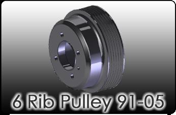 6 rib miata Pulley 92-05