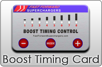 Timing boost card miata