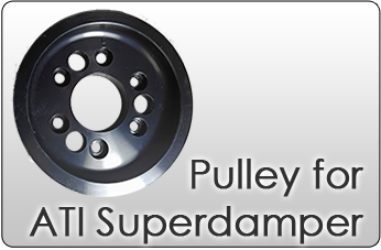 Miata pulley for ati damper