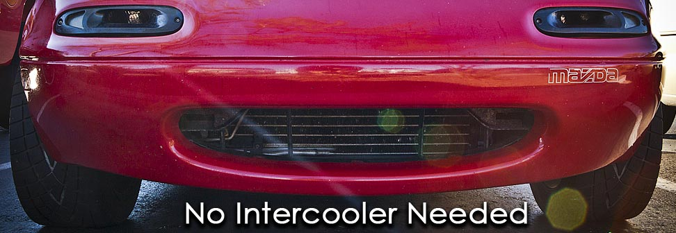 boosed miata no intercooler
